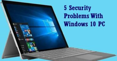 Windows 10 Security problems